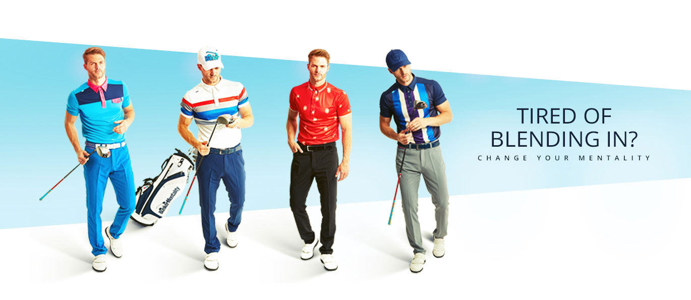 Bunker Mentality Mens Golf Clothing - Outfit Ideas