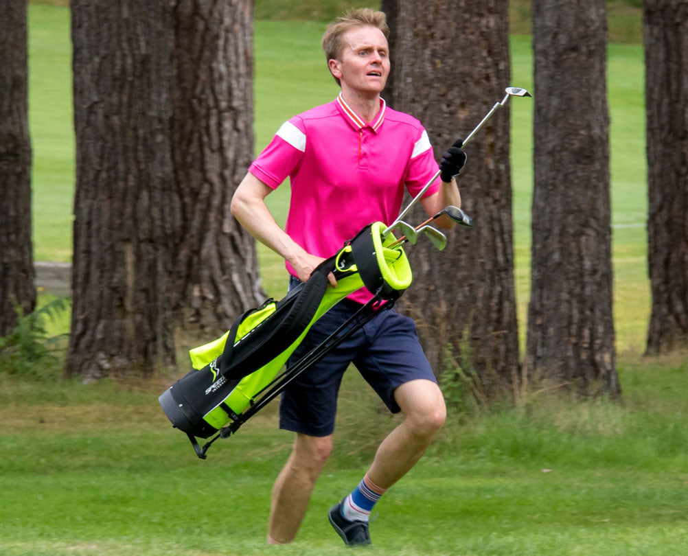 Luke Willett - The Iron Golfer Speedgolf