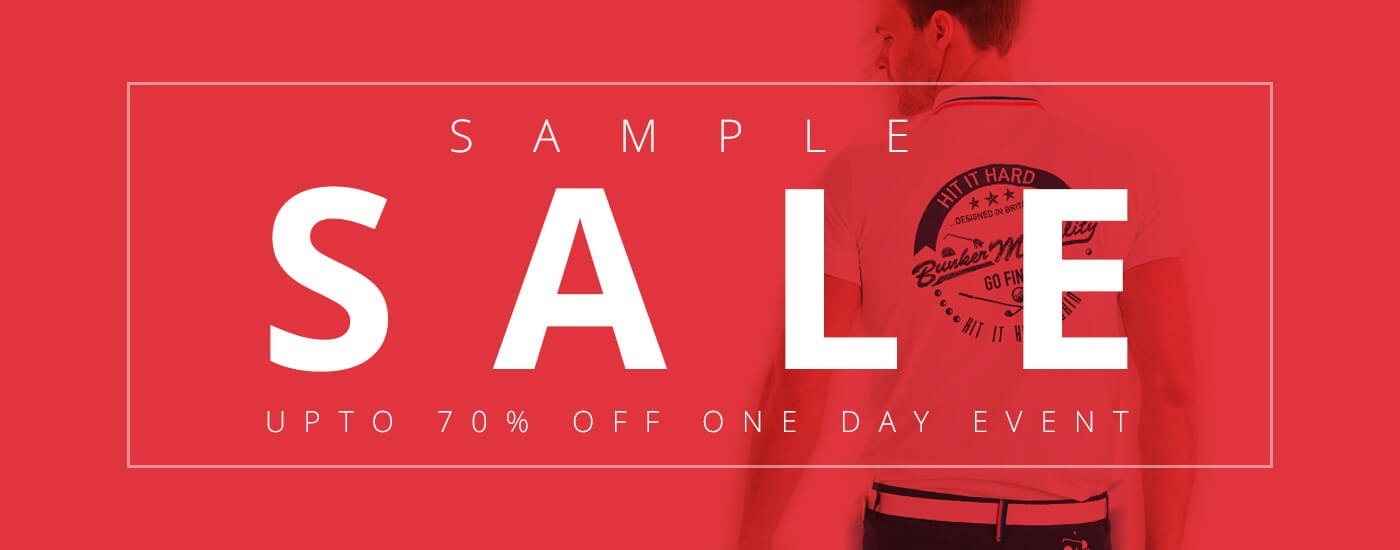 Bunker Mentality Sample Sale Header