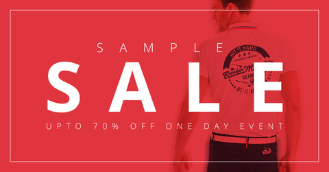 Bunker Mentality Sample Sale