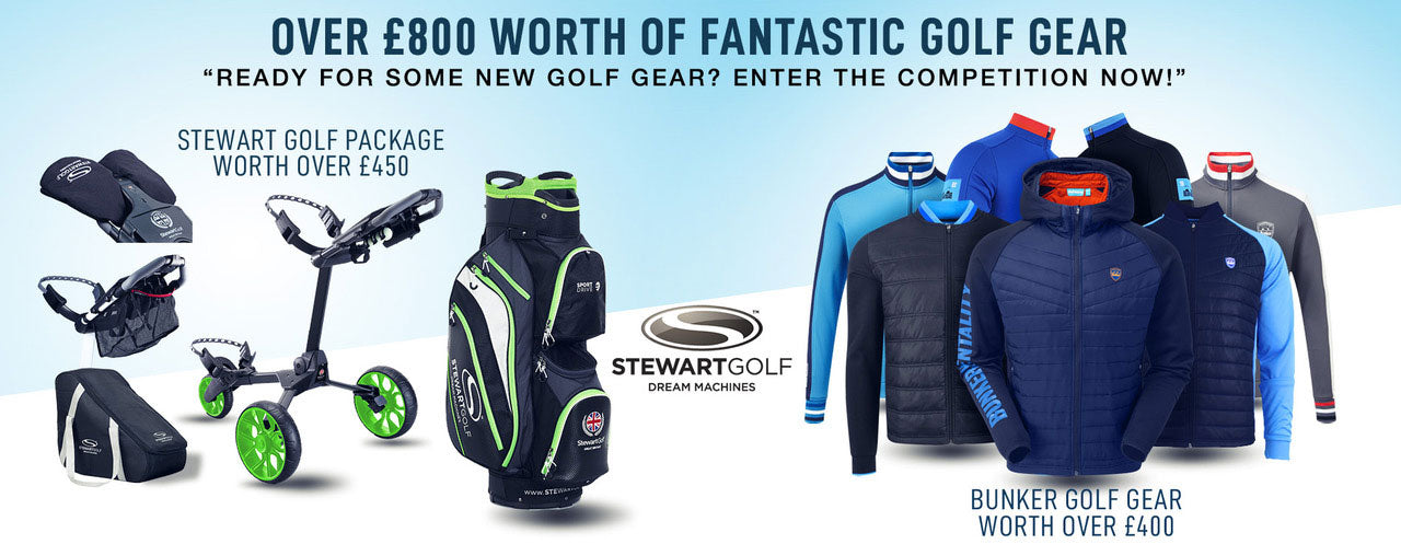 Stewart Golf and Bunker Mentality Competition Header