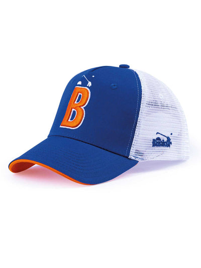 Bunker B Trucker Snapback - Electric Blue