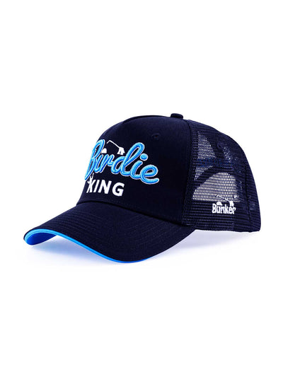 Birdie King Trucker Snapback Cap - Black
