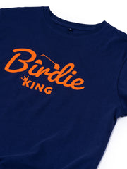 Birdie King T Shirt - Navy