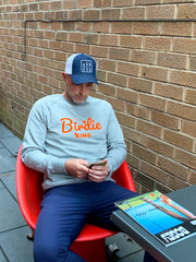 Birdie King Golf Sweatshirt - Grey