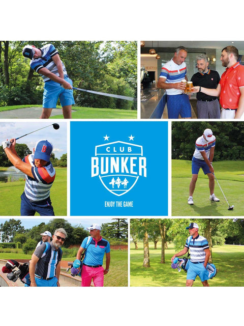 Bunker Mentality Digital Golf Club - Club Bunker annual Membership for unique golf experiences, golf events and savings on Golf clothing