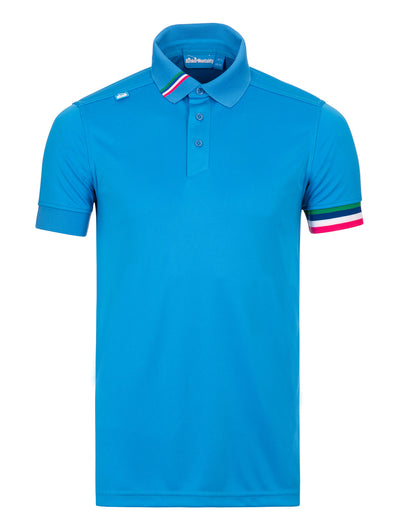 Cmax Kobi Solid Golf Polo Shirt - Bunker Blue