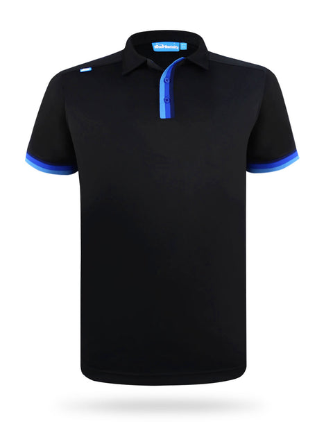 CMax Silvio Polo Shirt - Black