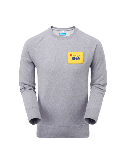 Bunker Flag Sweatshirt - Grey
