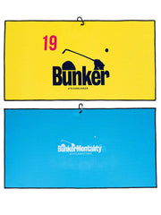 Bunker Flag Golf Towel - Yellow