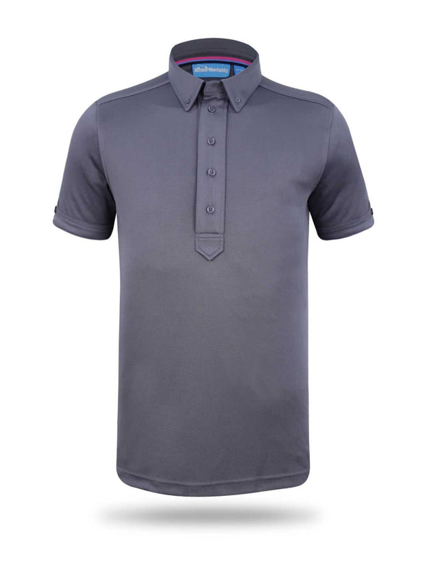 Cmax Frank Grey Golf Polo Shirt - Grey