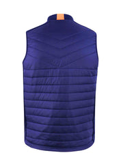 Puffer Caddy Jackson Windproof Golf Gilet - Navy