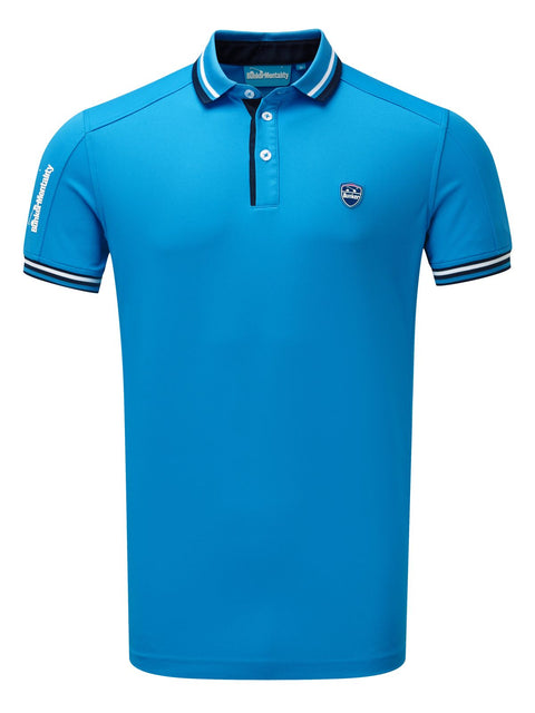 CMAX Events Polyester Polo Shirt - Bunker Blue - Various Sizes (sample)