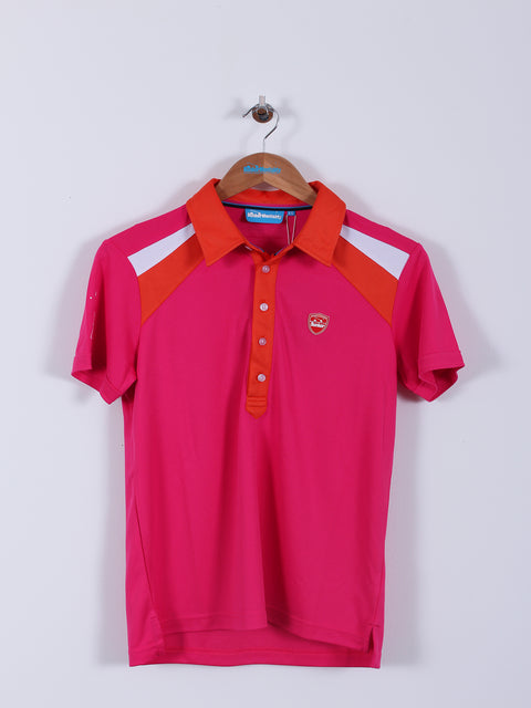 CMAX Insert Playa Polyester Polo Shirt (Sample) - Hot Pink - Various Sizes