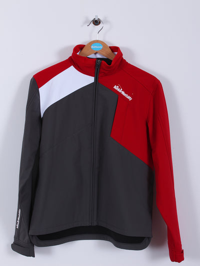 Mancia Jacket (Sample) - Red/Grey - Medium