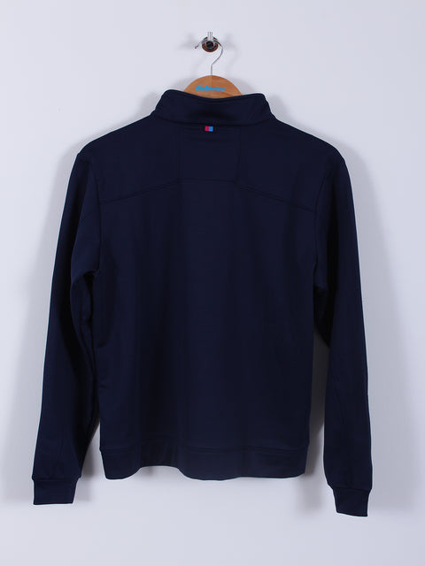 Thermal Quarter Zip (Sample) - Navy - Medium