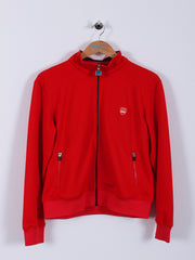 Playa Zipper Jacket (Sample) - Red - Medium