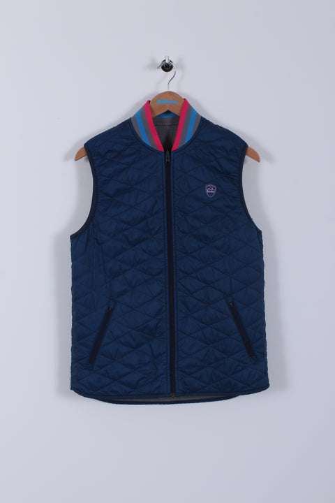 Bunker Reversible Mid-Layer (Sample) - Blue/Grey - Small