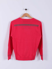 Bunker Logo Sweater (Sample) - Pink - Multiple Sizes