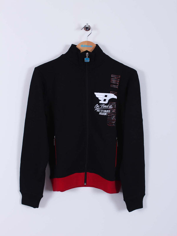 Club House Zipper (Sample) - Black/Red - Small