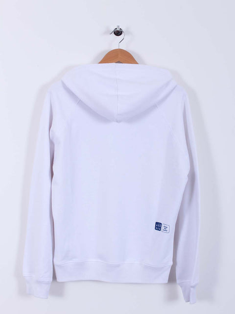 Bunker Style Hoodie (Sample) - White - Multiple Sizes
