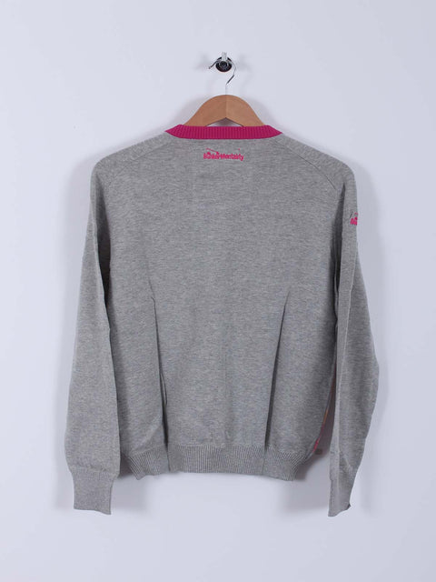 Bunker Tri Sweater (Sample) - Grey - Small