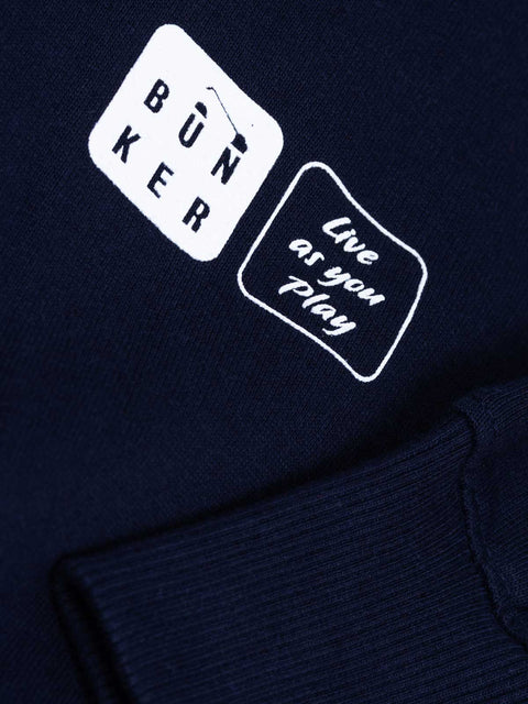 Birdie King Golf Sweatshirt - Navy