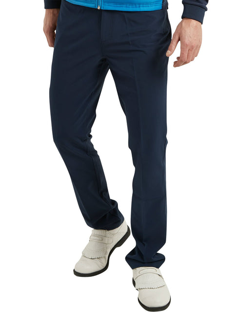 Bunker Mentality Nino Navy Polyester Mens Golf Trousers - Model