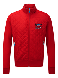 Bunker Playa Crest Jacket (Sample) - Red - X Small