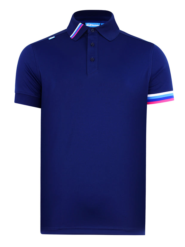 Cmax Kobi Solid Golf Polo Shirt - Navy Brand