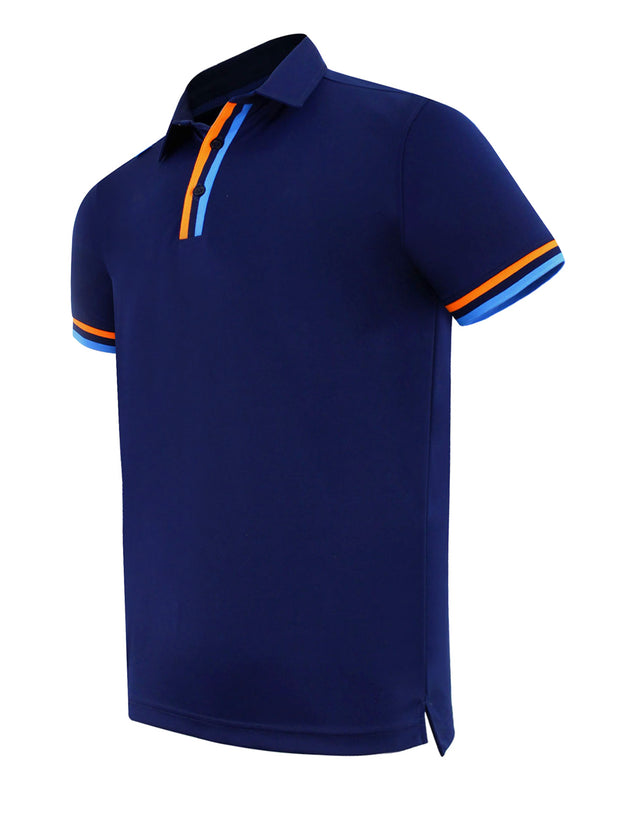 CMax Silvio Golf Polo Shirt - Navy