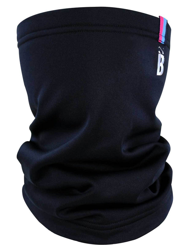 Bunker Mentality Mens Black Golf Snood with embroidered B at top