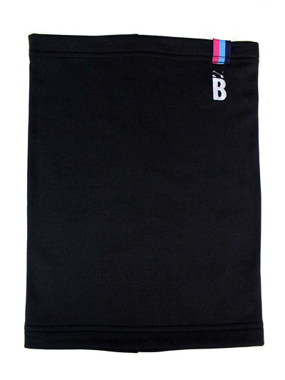 Bunker Mentality Black Thermal Warmth Golf Snood with B embroidered on top left - Front