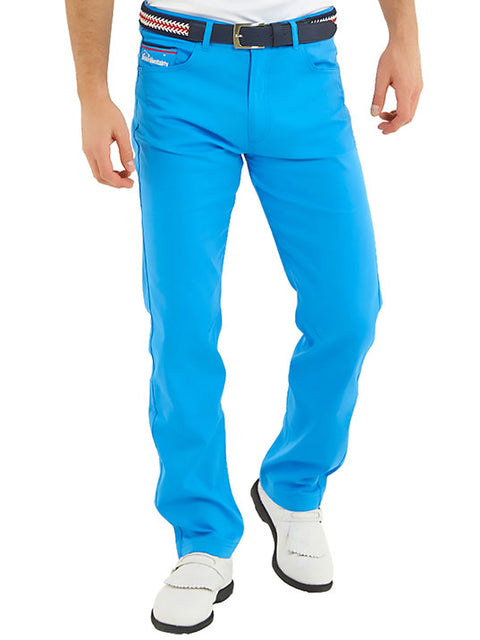 Bunker Mentality Baxter Bunker Blue Mens Golf Trousers - Model