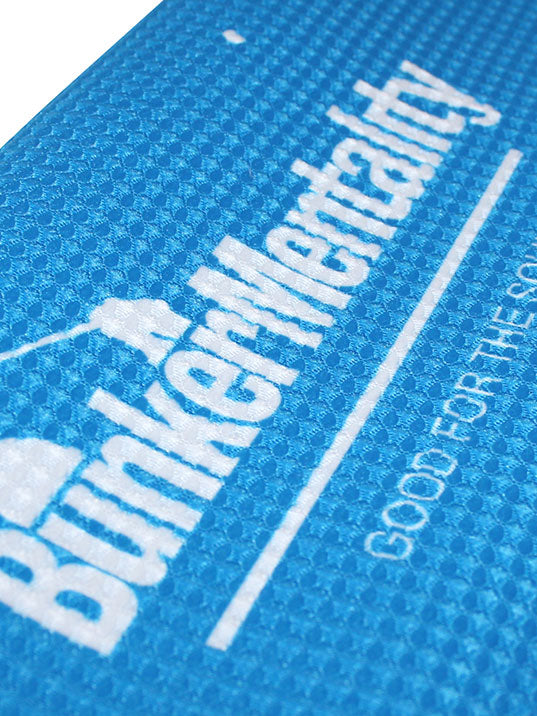 Bunker Mentality Logo Tri Fold Towel - Close Up