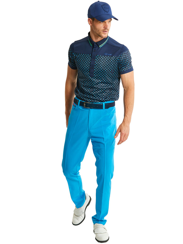 Bunker Mentality Cmax Bunker Spot Navy Mens Golf Outfit