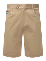 Bunker Mentality Nino Stone Sand Mens Golf Shorts - Front