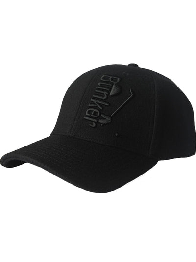 Bunker Mentality Tonal Branded Wool Mens Golf Cap