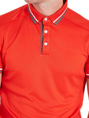 Cmax Events Golf Polo Shirt - Red
