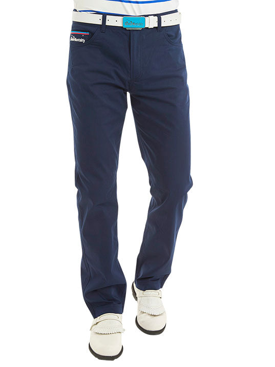 Bunker Mentality Loomtech Navy Blue Mens Golf Trousers - model
