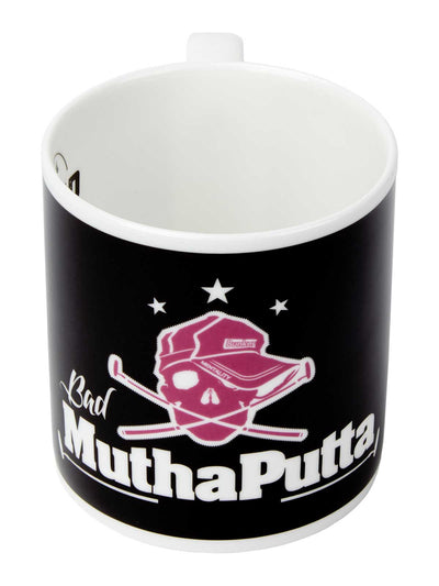 Bunker Mentality Bad Mutha Putta Black golf gift present China Mug