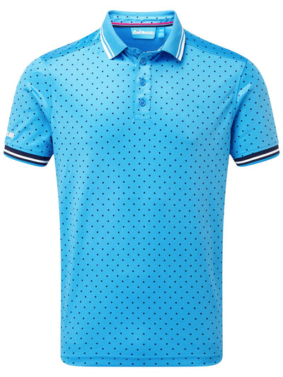 Cmax Single Spot Golf Polo Shirt - Blue