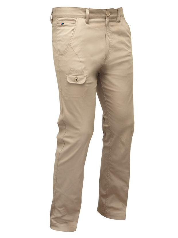Bunker Mentality T Vault Stone Sand Mens Golf Trousers - Front