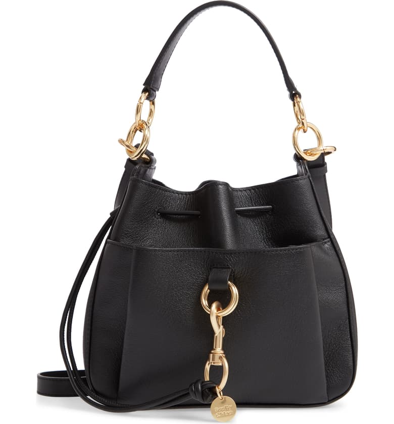 Tony Leather Bucket Bag
