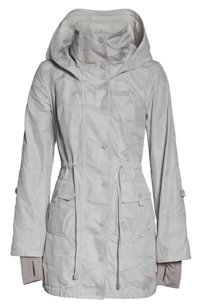 Camo Hooded Anorak Grey Reach Multiplier M