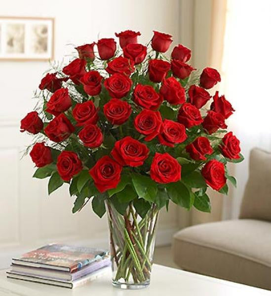 Three Dozen Red Roses