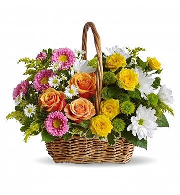 Sweet Melody Basket