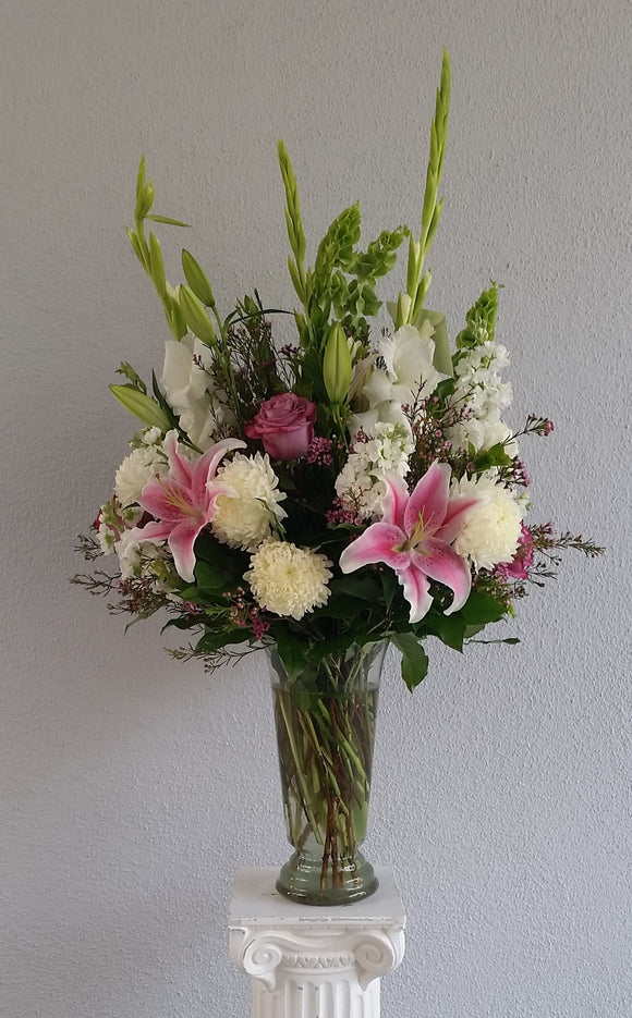 Graceful Abundance Vase Arrangement