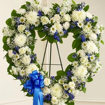 Ocean Heart Wreath