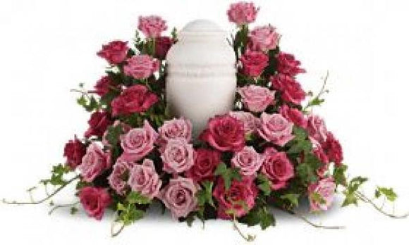 Bed of Roses Urn Wreath